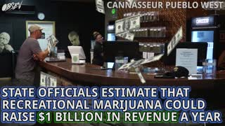Recreational Weed Officially On California's Ballot - Video