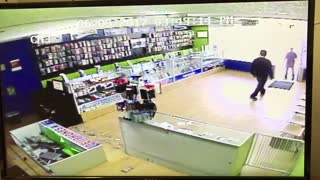 Smash and Grab Security Footage - Video
