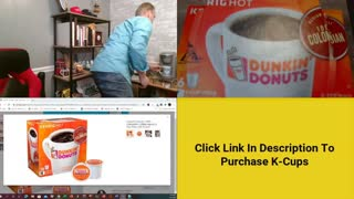Review of Dunkin Donuts K-Cup Coffee | Review of Dunkin Donuts Coffee