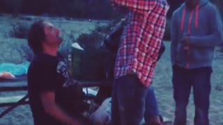 Trying to smash a watermelon on your friends head. GREAT IDEA. - Video