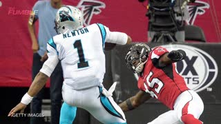 Cam Newton Suffers Brutal Concussion, Taken Out Of Game - Video