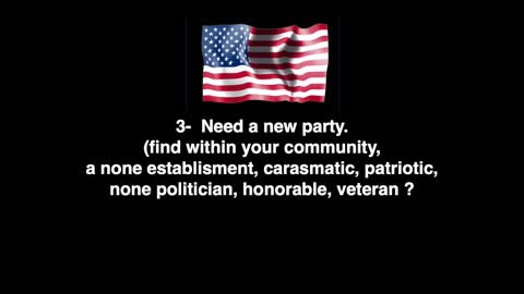 The Path Forward - Patriot Party