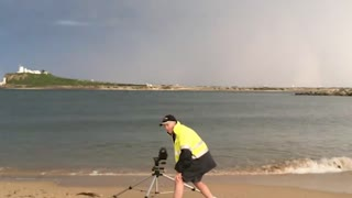 Photographer Struck By Lightning - Video