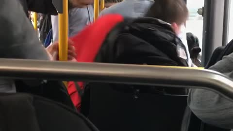 Man Forced Off Bus After Spewing Racist Remarks