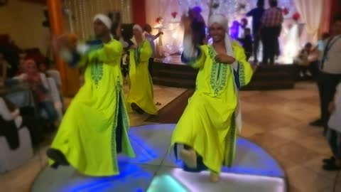 Egyptian Paissent Dance Show In Wedding