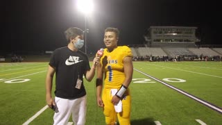 Leonard QB DJ Brown After Round 1 Win Over Palmer