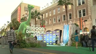 "Pixar chief says ""The Good Dinosaur"" studio's 'most beautiful' movie - Video"
