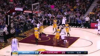 Kyrie Irving Hangs in the Air for 9834201053 Seconds with INSANE Reverse Layup - Video