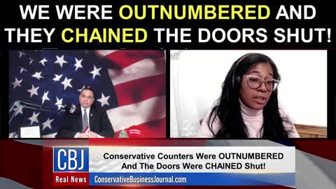 We Were OUTNUMBERED and They Chained The Doors Shut!