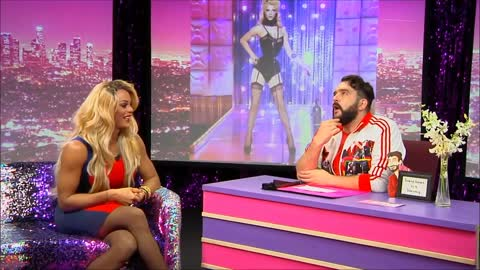 Tyra Sanchez Look At Huh SUPERSIZED Part 1 on Hey Qween! With Jonny McGovern