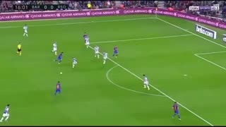 Leo Messi super goal vs Real Sociedad - Video