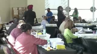 State of Georgia Atlanta County Multiple Ballot Counting Fraud