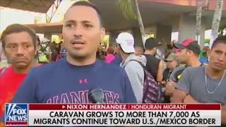 Migrant caravan member says there are criminals everywhere