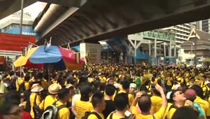 Malaysia marks Independence Day after protests - Video