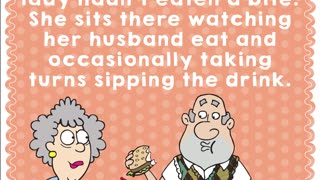 Aunty Acids Daily Chuckle- Sharing a meal