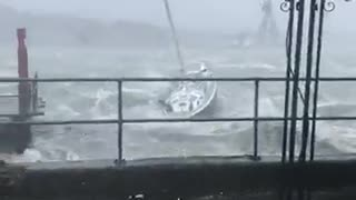 Massive Storm in Cork Ireland - Video