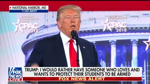 Trump on Parkland Shooting: 'A Teacher Would Have Shot the Hell Out of Him'