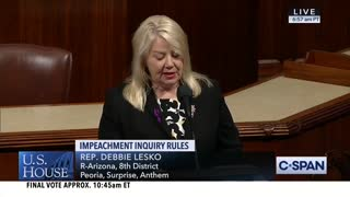 Impeachment Rules Resolution Passes: 2 Democrats Vote No