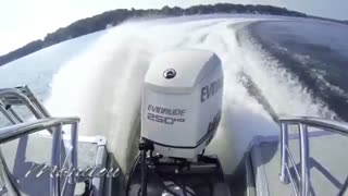 2014 Manitou Pontoon Boat Performance Video - Video