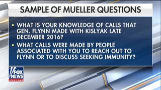 Joe DiGenova slams leaked Mueller questions, warns of constitutional crisis - Video