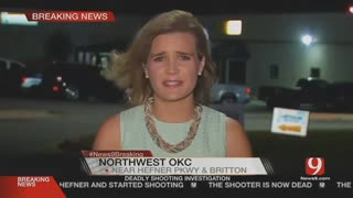 Suspect at Oklahoma restaurant shooting is shot dead by armed citizen - Video