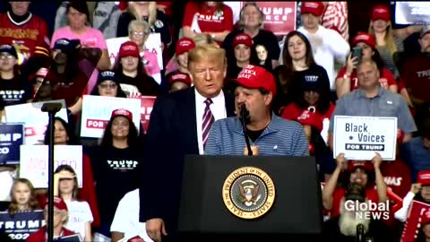 """""""Miracle on Ice"""" former captain speaks at Trump rally"""