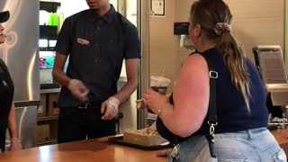 Fast Food Customer Wants More Cheese