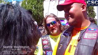 """All White People Need To Leave America"" Guy Gets Schooled By Tiny Toese And Myself - Video"