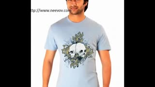 Navy Colour T Shirts - Video