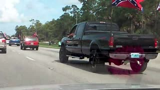 Confederate Car Rally - Video