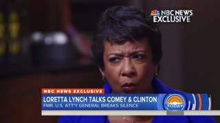 Loretta Lynch claps back after James Comey disses her in book.