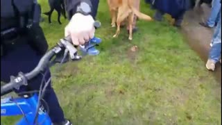 Our Camera Guy Gets Stopped By The Police AND Trump Supporters At Salem March4Trump Event