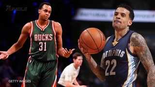 Grizzlies' Matt Barnes Follows John Henson To Bucks Locker Room - Video