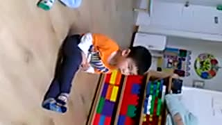 Adorable Toddler Loves To Sing The ABC Song - Video