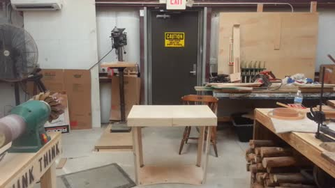 Craftsman Made A Table That Folds In One Second And We Want It