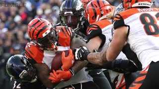 Bengals Vontaze Burfict Caught Flopping - Video