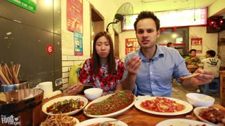 Dirty and Delicious Streetside Meals And Snacks   Sichuan, China - Video