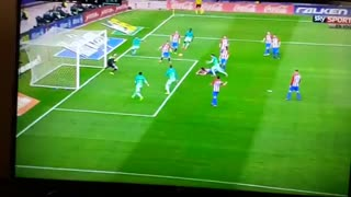 Gol de Messi vs Atletico Madrid - Video