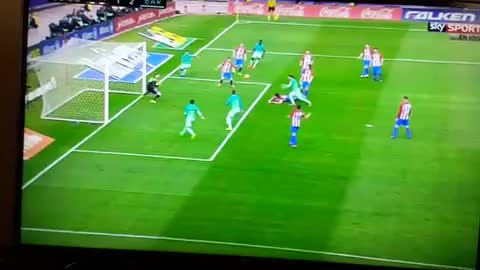 Gol de Messi vs Atletico Madrid