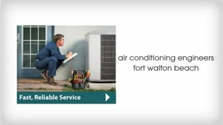 air conditioning engineers fort walton beach - Video