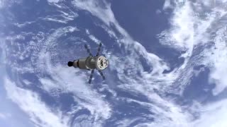 NASA's Space Travel Orion rocket launch
