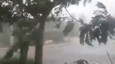 Tropical cyclone Veronica footage captured in Australia