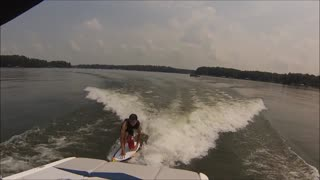 How to take wake surfing to the next level - Video