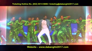 DaBang 2017 HK - Prabhudeva - 16th April 2017 at The Central Harbourfront - Video