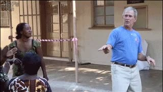 George W. Bush Dances - Video