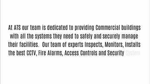 Commercial fire Alarms