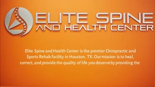 Sports Chiropractor Houston - Video