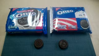 Double Stuf vs. Winter Olympic Oreo  - Video