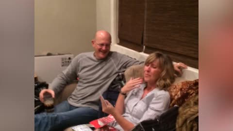 Mom Has Sweet Reaction To Surprise Concert Tickets
