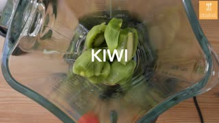 Kiwi watermeloen cocktail - Video